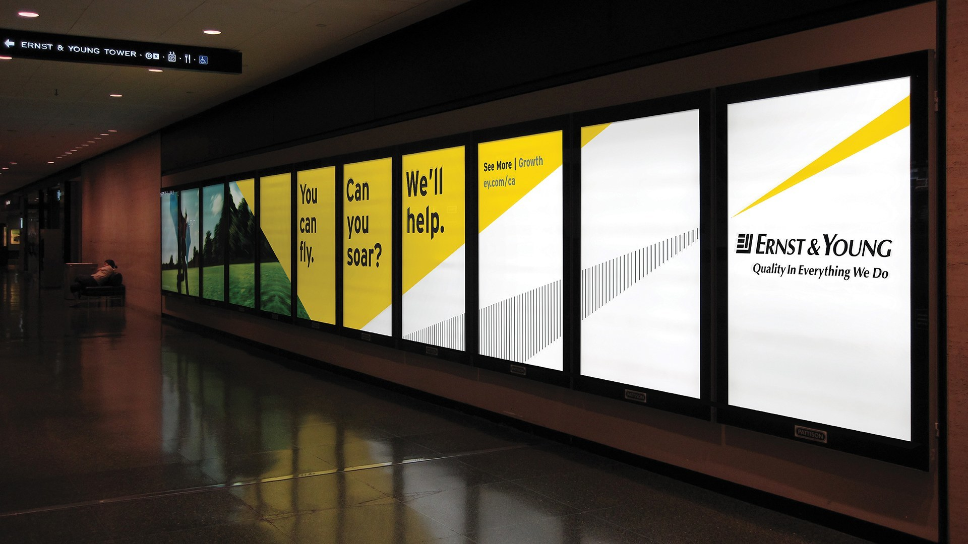 Ernst And Young I Branding Amp Design By Bhandari Amp Plater Inc Bhandari Amp Plater